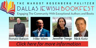 Dallas Jewish Bookfest Image